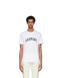 Harmony White College T Shirt