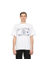 Billionaire Boys Club White Greetings Logo T Shirt