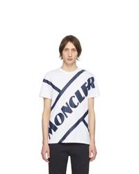 Moncler White Tennis Logo T Shirt