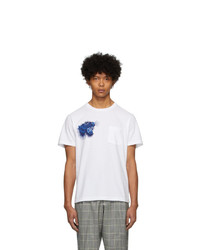 Blue Blue Japan White Tiger T Shirt