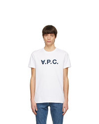 A.P.C. White Vpc T Shirt