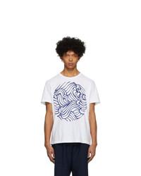 Blue Blue Japan White Wave T Shirt