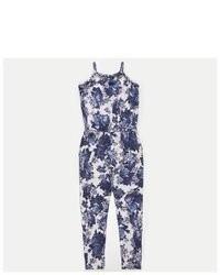 Full tilt floral print girls jumpsuit medium 76648