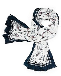 Tory Burch Cape Floral Printed Scarf
