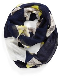 Halogen Floral Print Infinity Scarf