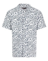 Michael Kors Michl Kors Headline Print Short Sleeve Shirt