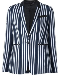 Rag bone striped blazer medium 1159930