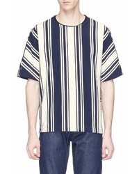 Wooyoungmi High Low Stripe T Shirt