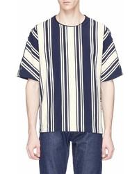 Wooyoungmi High Low Stripe T Shirt