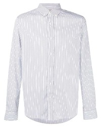 Brunello Cucinelli Button Down Collar Pinstriped Shirt