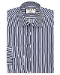 Thomas Pink Grant Stripe Dress Shirt Bloomingdales Regular Fit