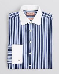 Thomas Pink Hendon Stripe Dress Shirt Regular Fit