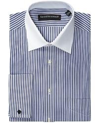 Kenneth Gordon Bengal Stripe Dress Shirt