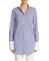 Michael Kors Michl Kors Striped Button Down Shirt