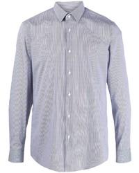 BOSS Stripe Print Long Sleeved Shirt