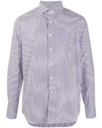 Canali Striped Classic Shirt