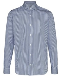 Eleventy Striped Formal Shirt