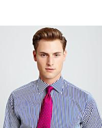 85af0c23 Thomas Pink Algernon Stripe Slim Fit Double Cuff Shirt, $195 ...