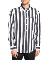 Obey Echo Striped Sport Shirt