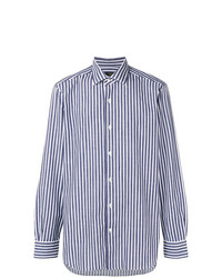 Barba Striped Button Shirt