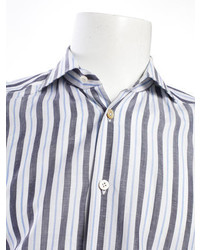 Kiton Striped Button Up