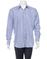 Loro Piana Striped Button Up