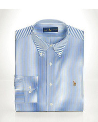 Polo Ralph Lauren Striped Pinpoint Oxford Dress Shirt