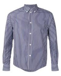 Balenciaga Striped Shrunken Shirt