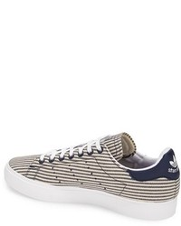 adidas Stan Smith Canvas Stripe Sneaker