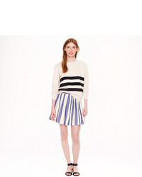Kitsune Maison Kitsun Stripe Skater Skirt