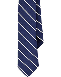 Barneys New York Diagonal Stripe Faille Neck Tie