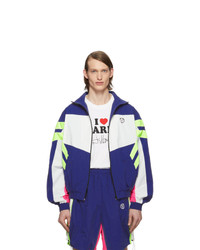 Vetements Blue And White 90s Tracksuit Jacket