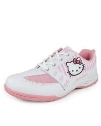 Hello Kitty S Shoes White And Pink 7 White
