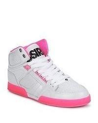Osiris Nyc83 Slim White Pink Shoes