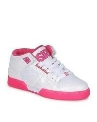 Osiris Nyc83 White Pink Shoes