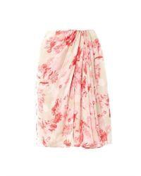 White and pink full skirt original 6068611