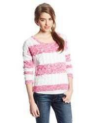 U.S. Polo Assn. Juniors Cropped Striped Sweater