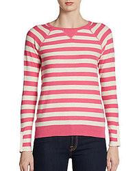 Rebecca taylor striped raglan pullover medium 31166