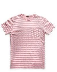 Chest pocket striped t shirt medium 23132