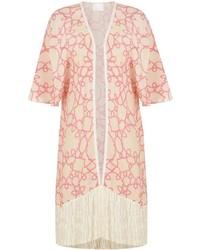 White and Pink Kimono