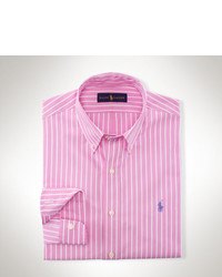 White and Pink Long Sleeve Shirt