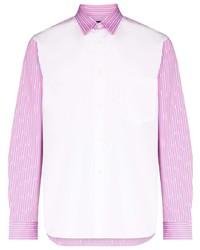 Comme Des Garcons Homme Plus Comme Des Garons Homme Plus Panelled Cotton Shirt