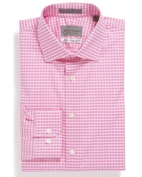 White and Pink Plaid Shirts for Men | Men's Fashion