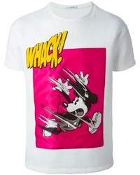 Iceberg Mickey Mouse Print T Shirt