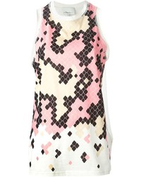 3.1 Phillip Lim Geometric Print Tank Top