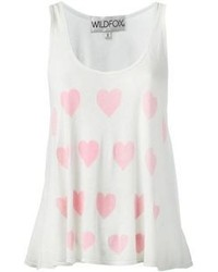 Wildfox Couture Wildfox Ocean Hearts Baja Tank