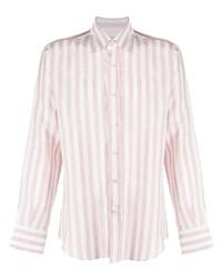 Canali Stripe Print Shirt