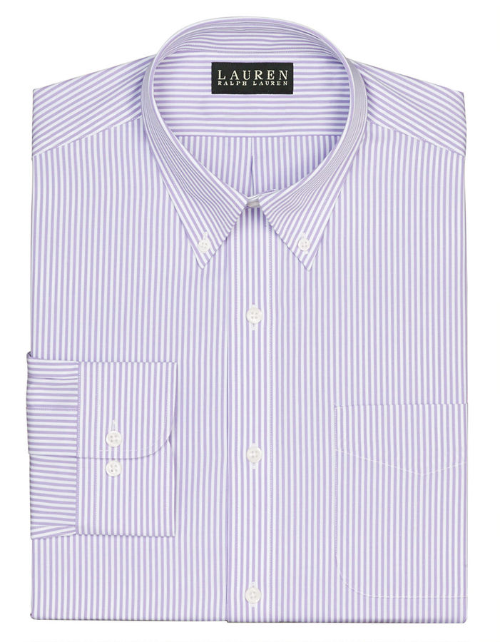 484780fc1c5 ... Lauren Ralph Lauren Slim Fit Striped Broadcloth Button Down Dress Shirt  ...