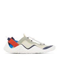Kenzo Beige Wave Sneakers