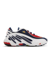 adidas Originals White And Navy Fyw 98 Sneakers